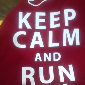 Keep Calm and Run On. Best shirt ever.