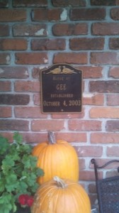 The House of Gee